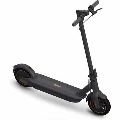 #10. SEGWAY Max Speed 18.6MPH Foldable & Portable Ninebot MAX Electric Kick Scooter (Dark Grey)