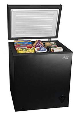 #3. Home Joy Energy Efficient 5cf Deep Compact 5 cu. Ft. Chest Freezer Deep Upright Apartment
