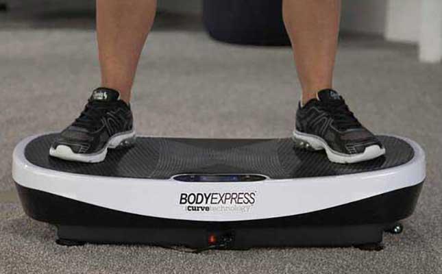 #5. Body Express with Curve Technology Vibration Platform
