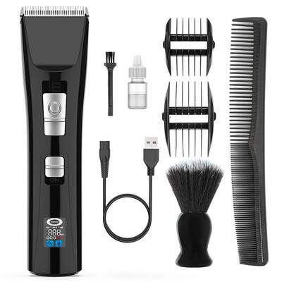 #6. Nicewell Cordless Rechargeable Electric Haircut Hair Clippers for Men Kids w/Neck Duster