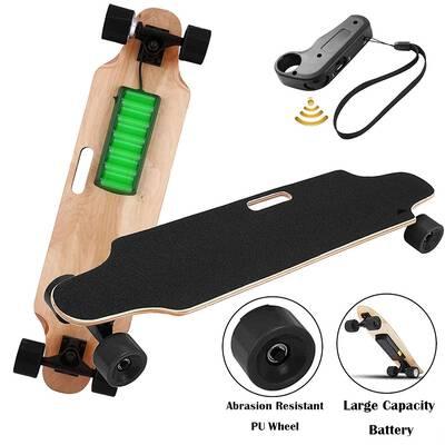 #6. Aceshin Motorized Skateboard 250W Motor Electric Skateboard for Adult Teens Kids