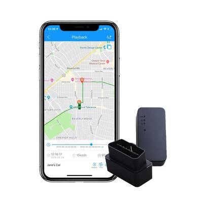 #8. ShieldGPS Real-Time GPS Tracking Hidden for Vehicles & Cars OBDII Device for Tracking Anti-Theft