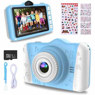 4. WOWGO 32GB TF CARD 1080P Large Screen Kid's Digital Camera for Boys & Girls
