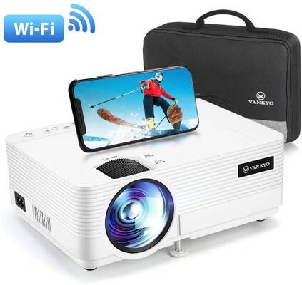 #8. VANKYO Full HD 1080P 250Inch Display Leisure 470 Mini projector w/Synchronize Smart Phone Screen