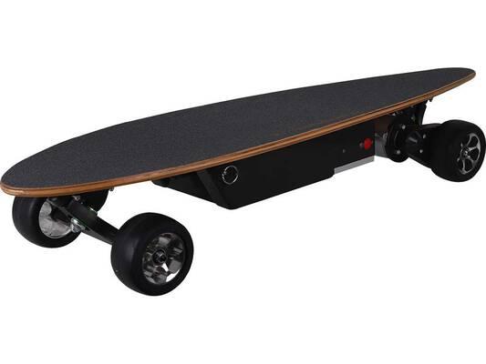 #10. Anxin Electric Skateboard 12 Miles Range 12 Ply Maple Deck Longboard