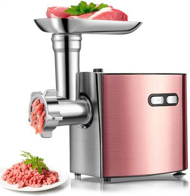 #6. cheffano ALTRA Multifunctional Electric Meat Grinder with Sausage Tube and Stainless Steel