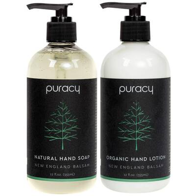 #3. Puracy Hand Soap and Lotion Set (2-Pack)