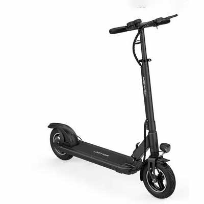 #9. JOYOR 500W Motor 10Inch One-Step Fold Ultra-Lightweight Foldable Scooter for Commune (Black)
