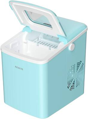 #5. Ice Maker, NOVETE Portable Countertop Ice Maker Machine