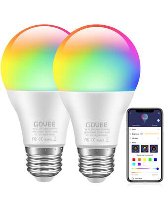 #8. Govee LED Bulbs Dimmable 2 Pack