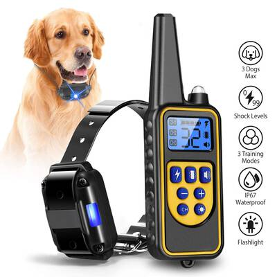 #9. iMounTEK Training Collar for Dogs, 2600 Feet Remote Range