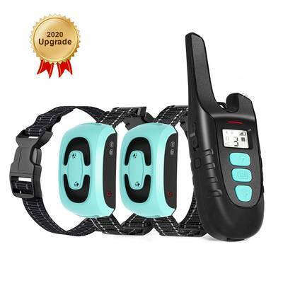 #7. TOKEGO Dog Training Collar with Remote, Rechargeable, and Waterproof