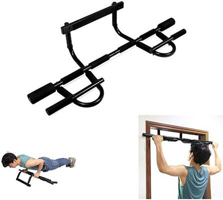#9. CAPTHOME Chin Up Bars, Portable Detachable Pull Up Bar