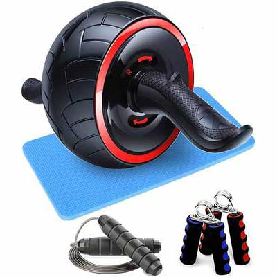 10. LEKEONE Ab Roller Wheel Exercise Equipment