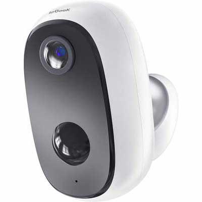 6. ieGeek 2-Way Audio 1080P Night Vision Wi-Fi Indoor Wireless Outdoor Security Camera