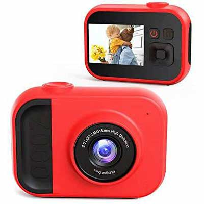 6. Sinohrd 32GB Memory Card 2.0'' 1080P Video Camcorder Kids' Digital Camera for Girls & Boys