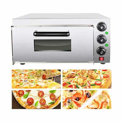 #4. vinmax Electric Pizza Oven with Pizza Drawer and Handle