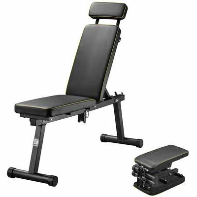 10. ZENOVA Adjustable Weight Bench for Complete Body Workout