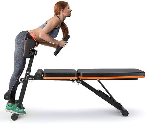 3. PERLECARE Adjustable Weight Bench